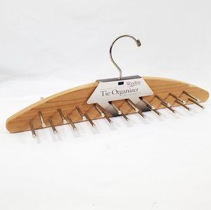 Woodlore Cedar Wood Closet Rack 42 Ties Scarf Belt